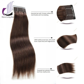 100 human hair weave color 4 colored brazilian hair weave for african american hair