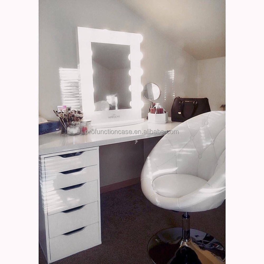 Miroir Coiffeuse Led Maison Design