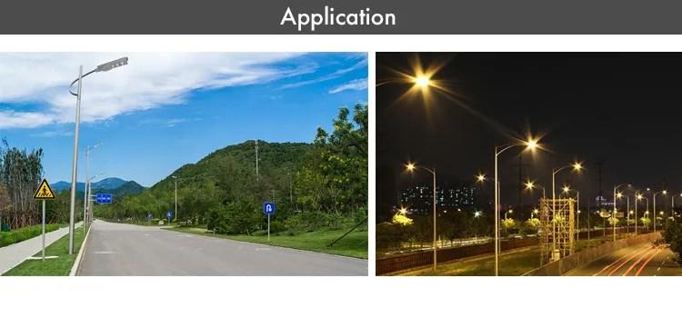 High lumen IP65 Outdoor waterproof 30W 60W 90W all in one solar led street light