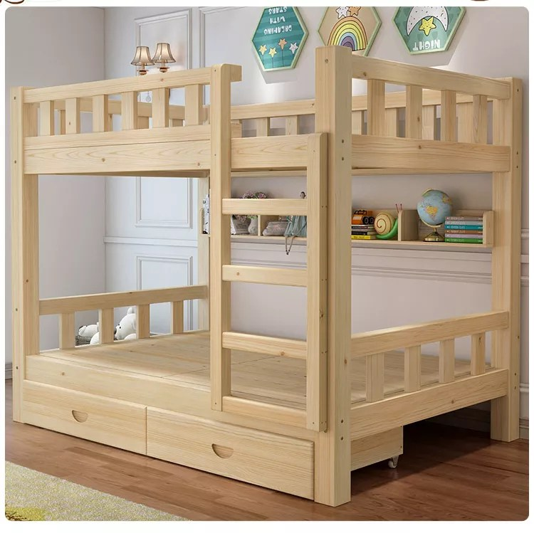 high quality and durable kindergarten wooden bunk bed children double wooden bed for sale buy colorful child bunk bed funky bunk beds commercial