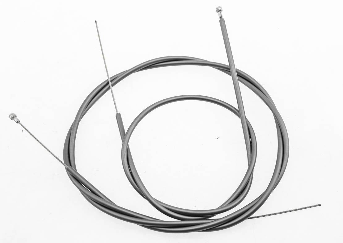 Get quotations · 4pc ultegra shimano road bike housing slr brake cable set gray 800 1400mm new