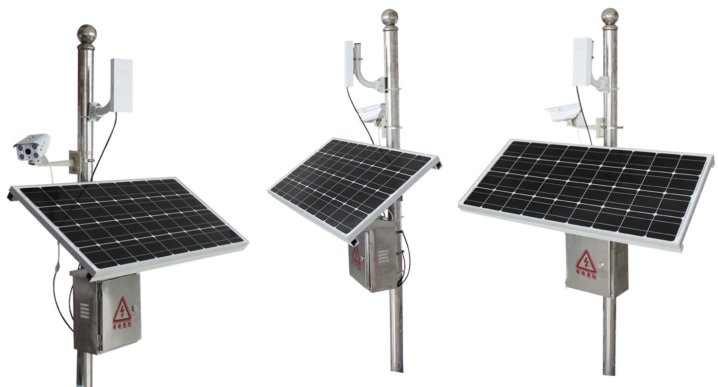 Security Alarm System Solar Powered Wireless Outdoor Ip