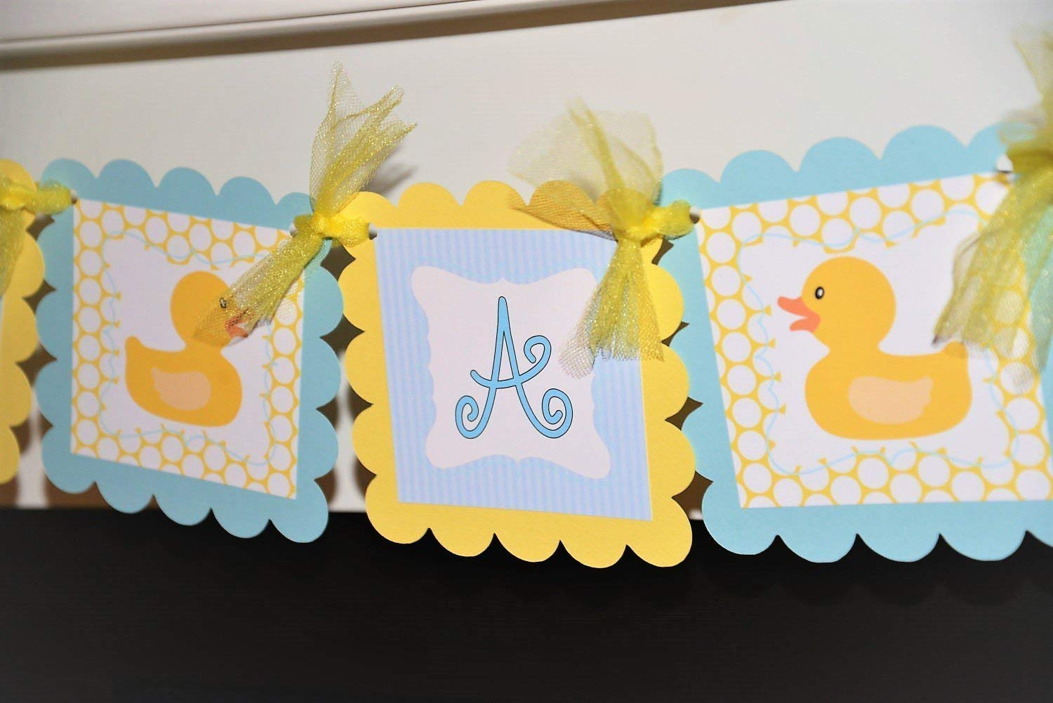 Buy Light Blue And Yellow Its A Boy Rubber Ducky Baby Shower