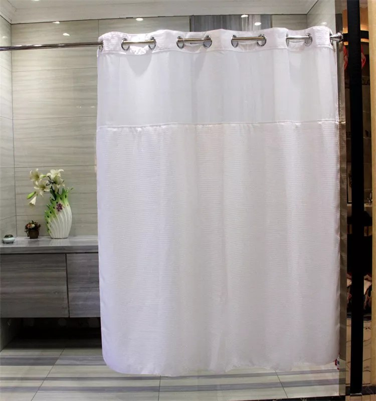 hookless bath shower curtain double layer honeycomb shower curtains buy shower curtains hookless shower curtain bath shower curtain product on