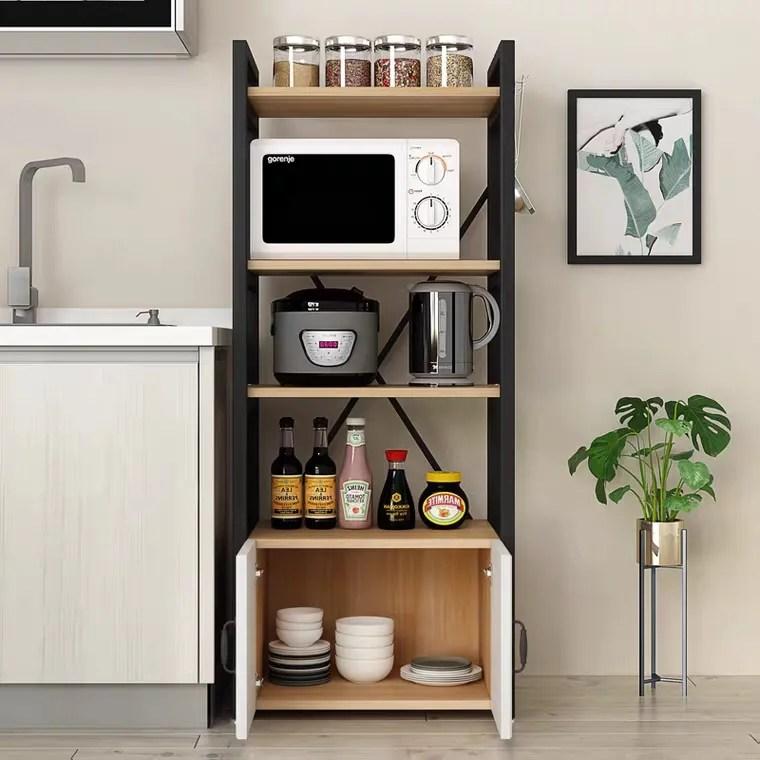 tmj 2052 latest new design orgnazier storage metal multilayer kitchen rack microwave oven stand kitchen cabinet buy chinese manufacturer design