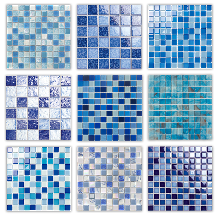 good quality cheap price tiles from foshan mosaic factory swimming pool tiles and decorative wall crystal glass mosaic tile buy swimming pool mosaic