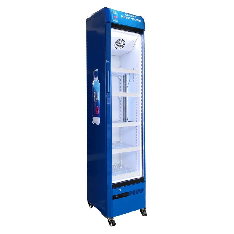 Sc 145b Slim Upright National Supermarket Display Commercial Coolers For Redbull Cold Drink View Commercial Display Coolers Oem Product Details From Hangzhou Onrun Electric Appliance Co Ltd On Alibaba Com