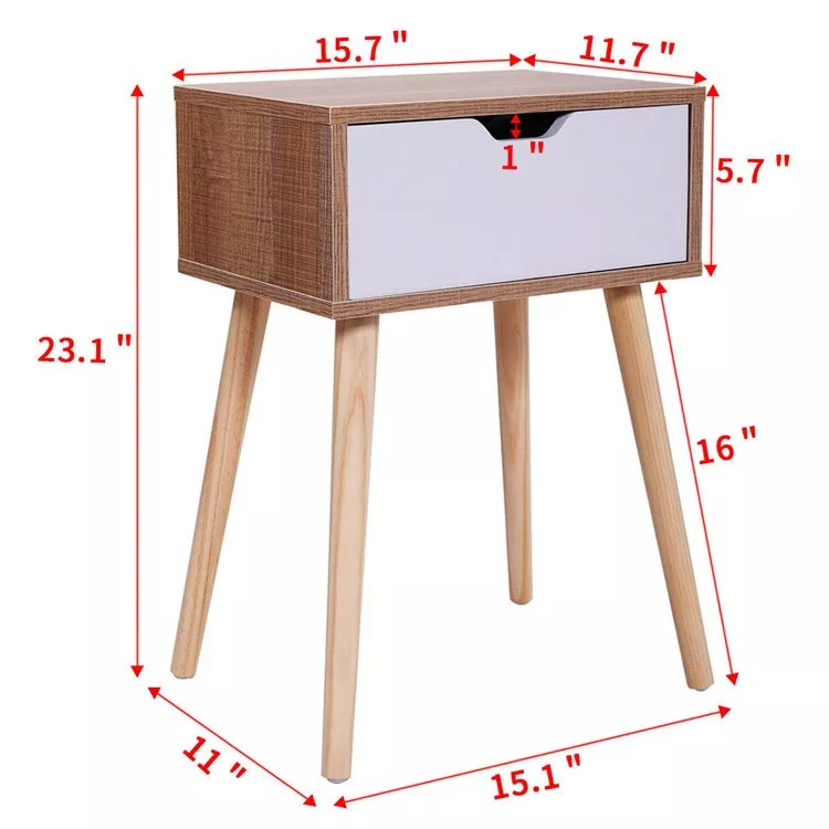 sofa side table bedside table large storage nightstand with solid wood legs buy large nightstand nightstand with leg storage nightstands product on