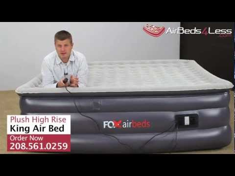 Get Quotations New Raised King Air Bed By Fox Airbeds Plush High Rise Mattress