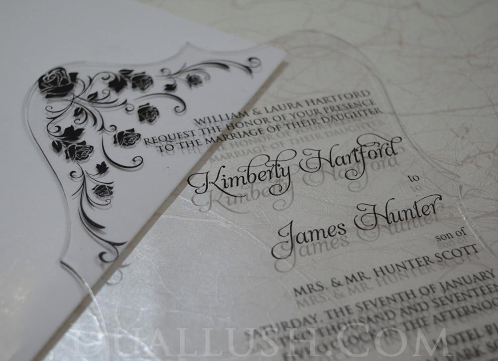 Bespoke Laser Cut Wedding Invitations