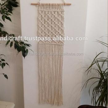 Handmade Hiasan Dinding Hitam Putih Dekorasi Rumah Cinta Knot