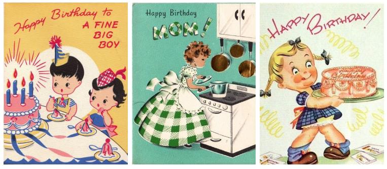 Kustom Selamat Ulang Tahun Kartu Ucapan Bunga Anak Desain Buy