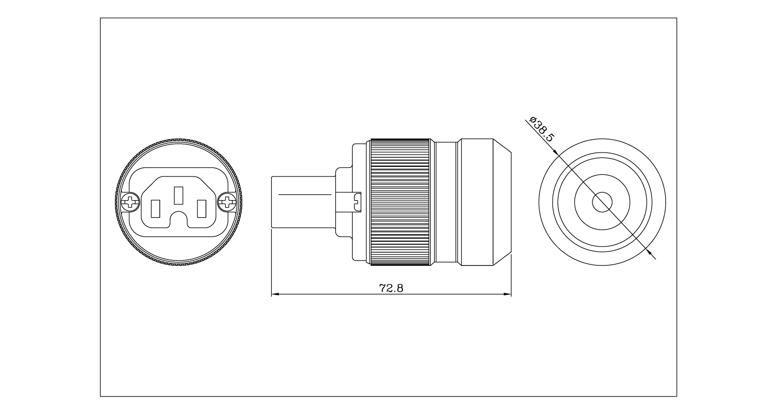High Grade Audio Cable Connector Plug