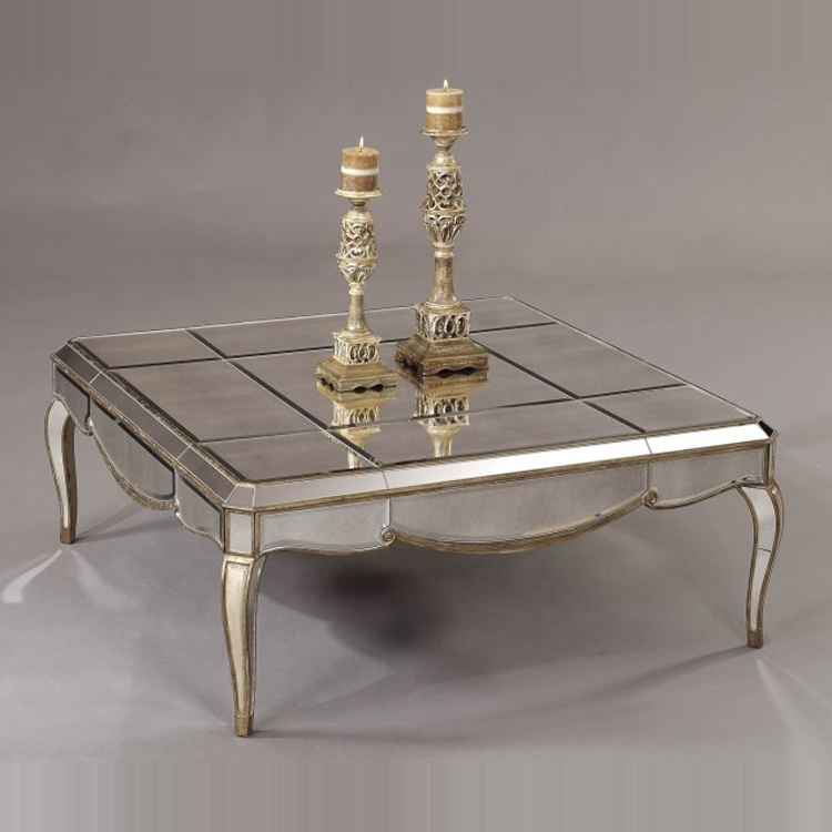 high quality antique modern silver mirrored coffee table buy mirrored coffee table modern coffee table antique silver mirrored coffee table product