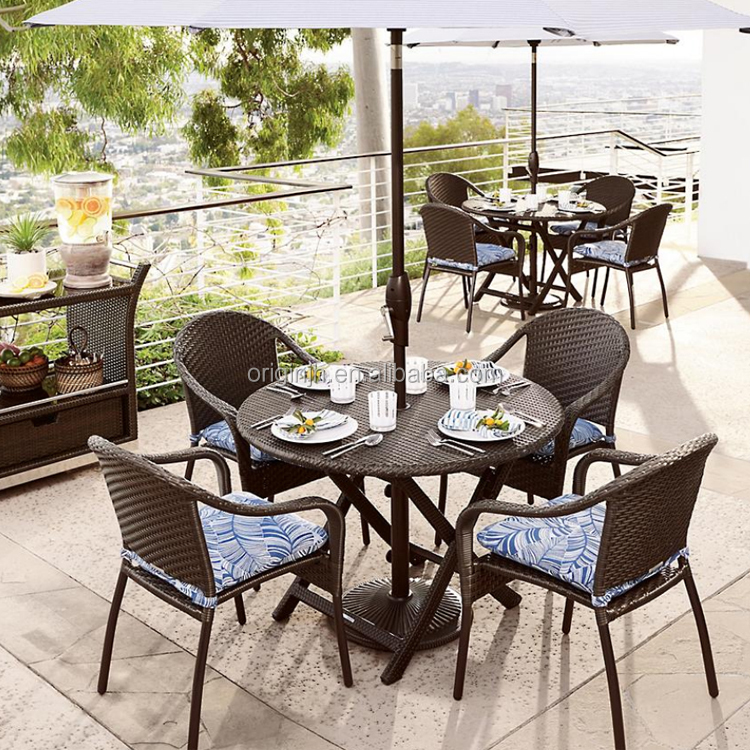 wholesale colombian style outdoor restaurant folding rattan coffee shop tables and chairs patio table set buy patio table set coffee shop tables and
