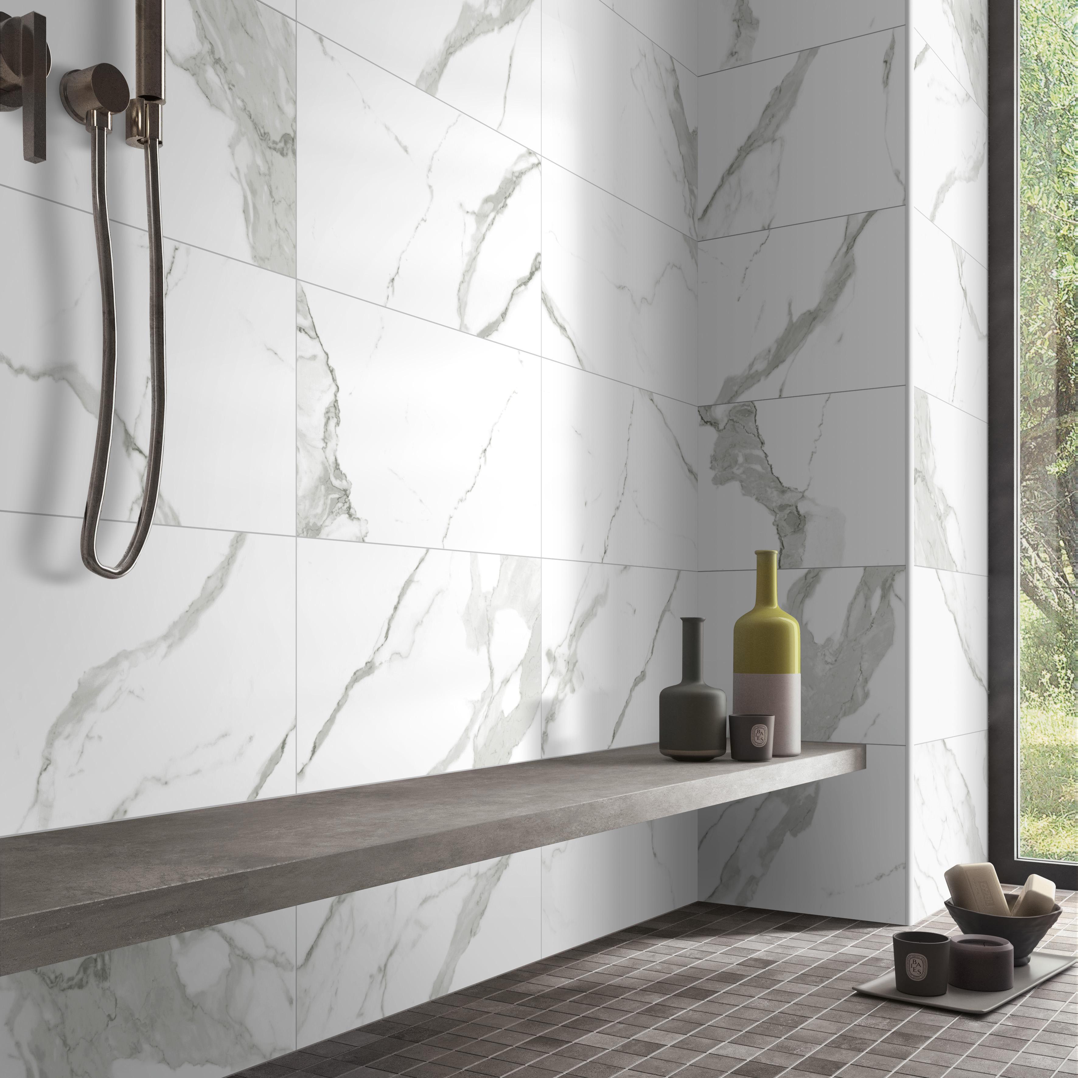 calacatta super white marble porcelain tile china glazed ceramic shower kitchen bathroom floor porcelain tiles buy calacatta white porcelain