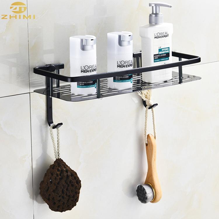 wall mounted metal corner hanging bathroom accessaries shelf rack shampoo holder soap basket buy bathroom wall rack bathroom rack shelf bathroom