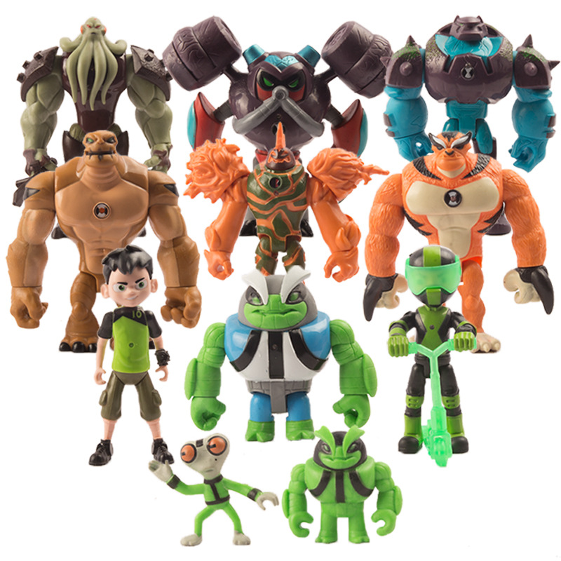 11pcs Set Toy Collection Gift Doll Model Decoration Ben 10 Toys Protector Of Earth Action Figures Buy Ben 10 Protector Of Earth Toys Ben 10 Toys Ben 10 Cosplay Costume Action Figure Product On