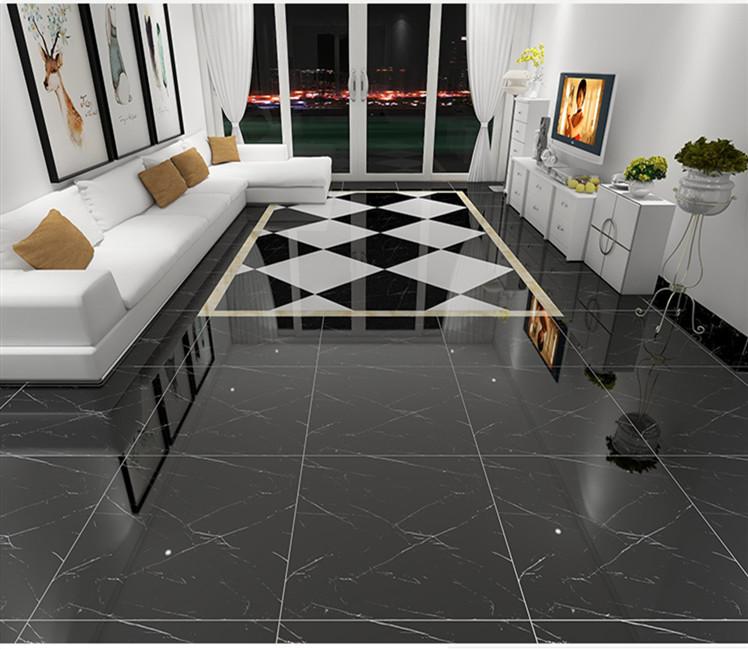black color spanish marble texture glazed full polished floor porcelain ceramic tile buy black tile black porcelain tiles black walnut glazed