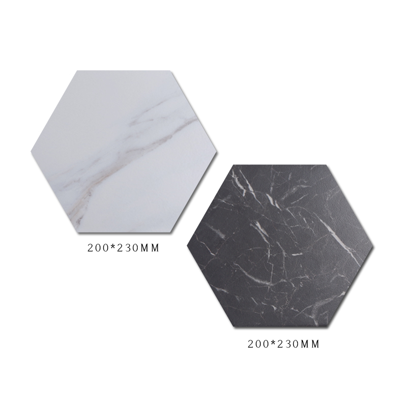 white and black two colors marble ceramic mosaic floor wall porcelain hexagon tile for kitchen bathroom buy kitchen backsplash tile bathroom wall