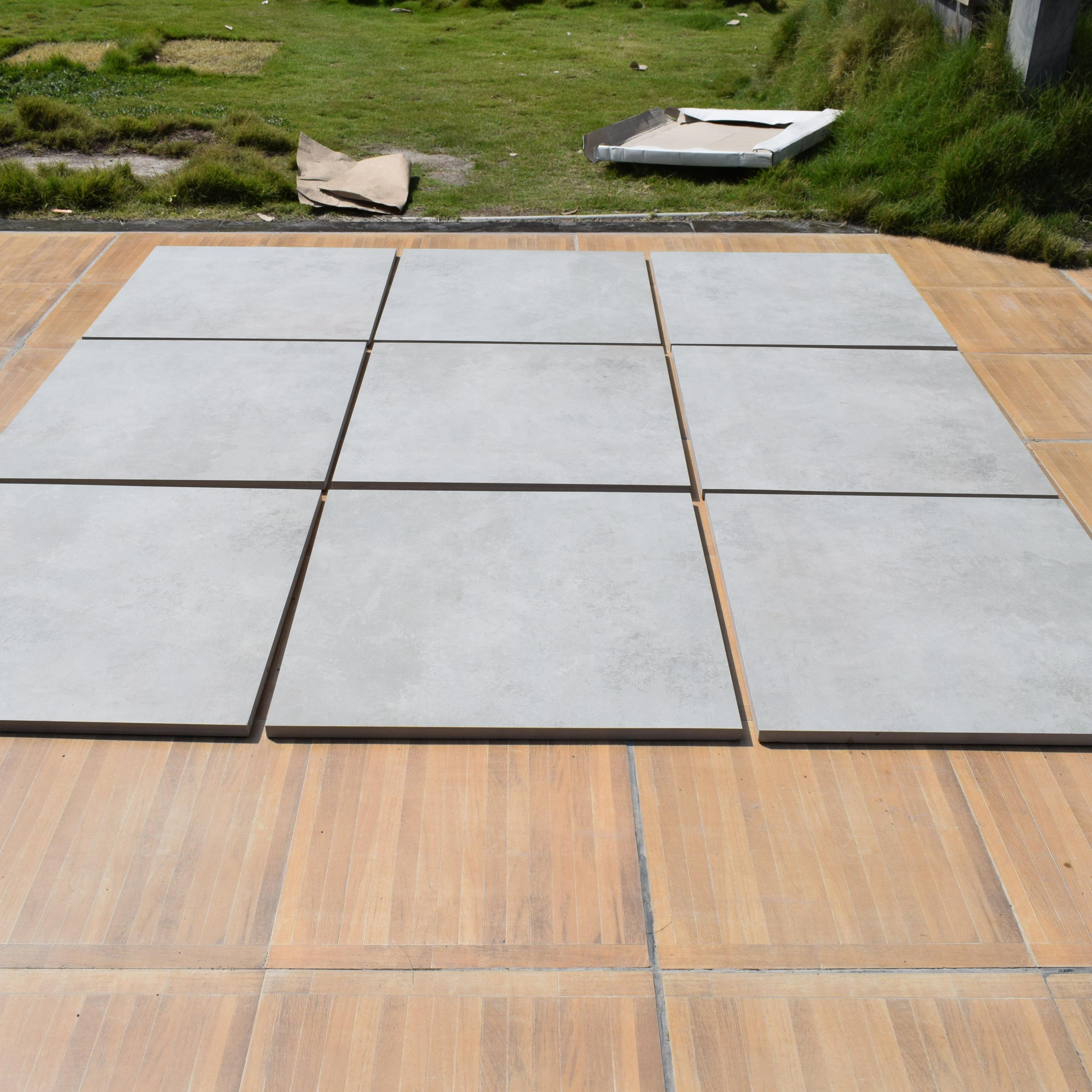 r11 cementino ash 20 mm thickness exterior heavy duty outdoor porcelain stone full body 2cm tiles beige color 600 x 600 mm buy solid color porcelain
