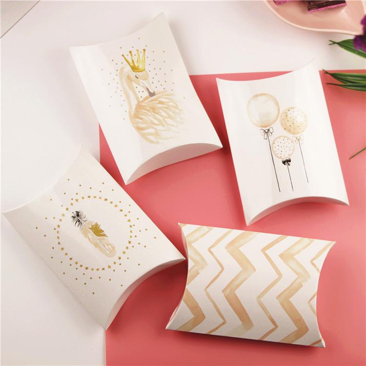creative design candy box folding pillow box buy pillow gift box small pillow box pillow shape box product on alibaba com