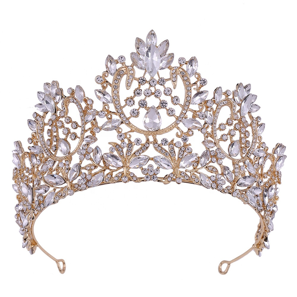 Princess Crown Tiaras For Girls Bridal For Wedding Queen Crown For Wedding Birthday Party Prom Silver And Gold Crown Buy Party Tiara Crowns Happy Birthday Tiara Crowns Miss World Crown And Tiara Bulk
