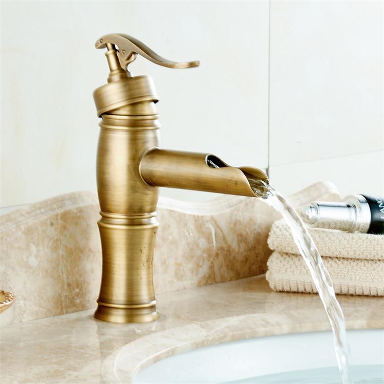 classic retro golden bathroom sink taps antique brass tap basin faucets buy brass basin faucet retro bathroom faucets golden basin tap faucet