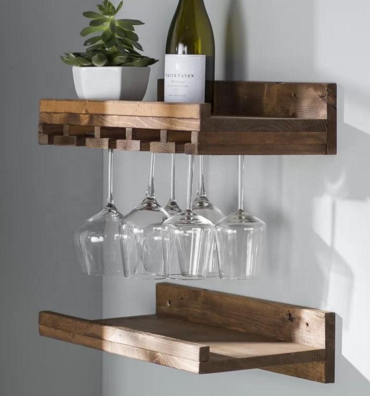 hanging make solid wood wine glass rack buy hanging wine glass rack drinking glass rack make wood wine rack product on alibaba com