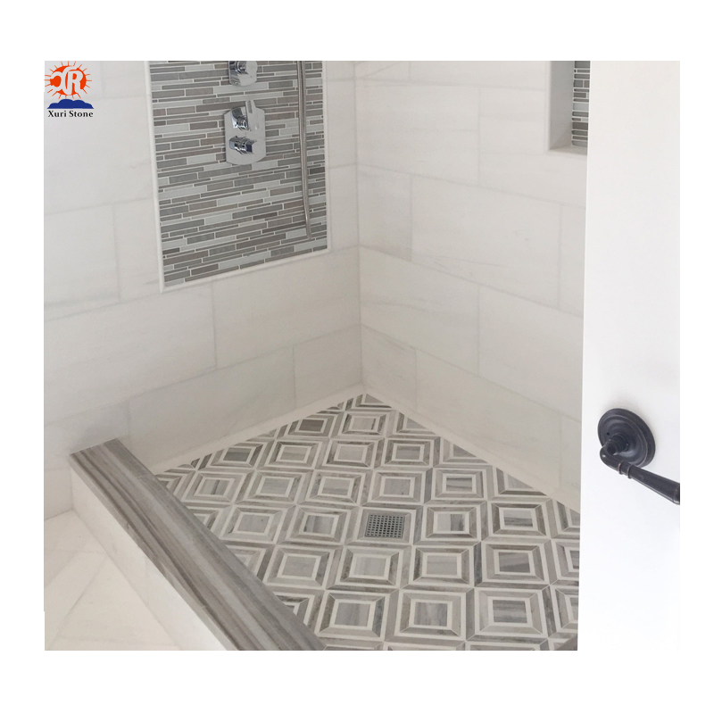 walk in show trays stone bathroom rectangle moaic tile buy walk in shower trays rectangular bathroom tiles natural stone tiles product on
