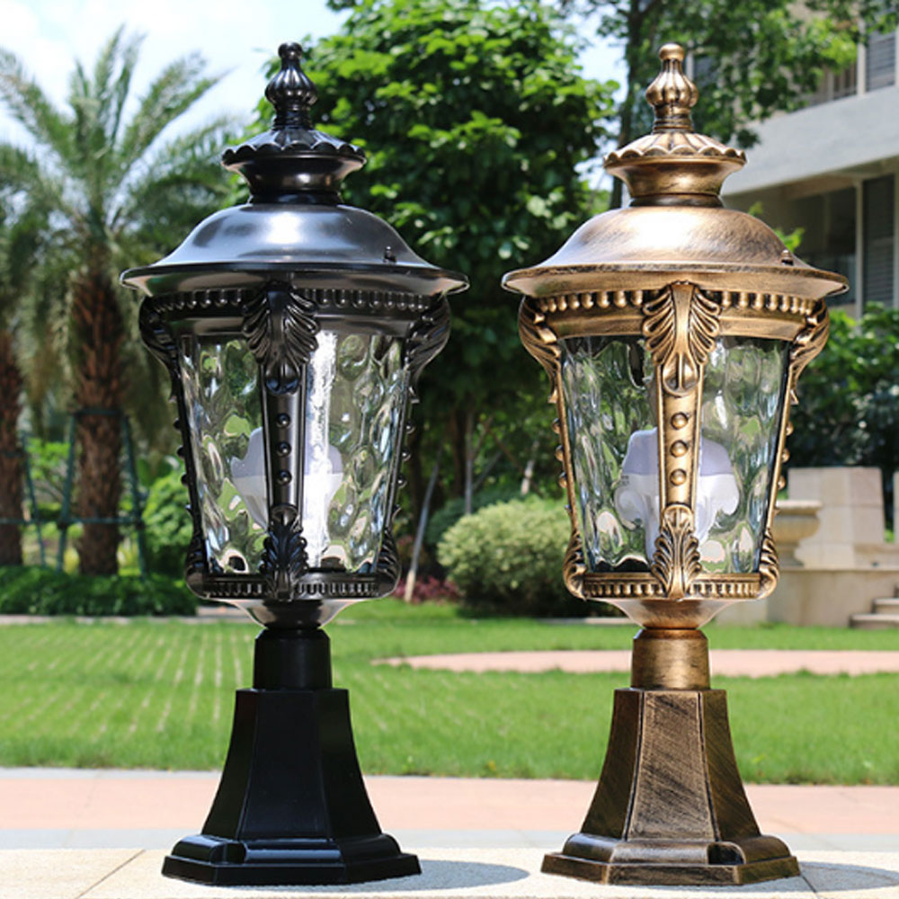 quality affordable exterior outdoor waterproof lighting for brick pillar columns lights buy exterior column lights outdoor lighting for brick