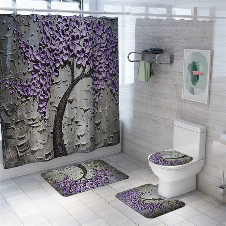 4 piece matching window bath rug mate and shower curtain sets of christmas buy 4 piece set of shower curtain bath set shower curtain and