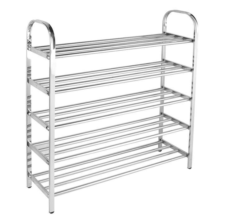 stainless steel shoe rack storage shoes closet diy assembled stand holder space saver simple shoe cabinet 3 4 5 6 layers buy shoe rack shoe rack
