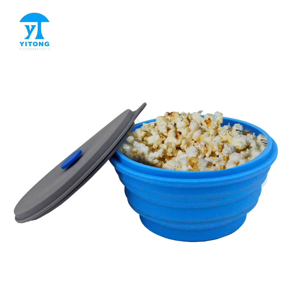silicon bowl to cook pop corn microwave popcorn maker popper bowl with lid food safe silicone bowl with covers camping bowl buy silicon bowl to