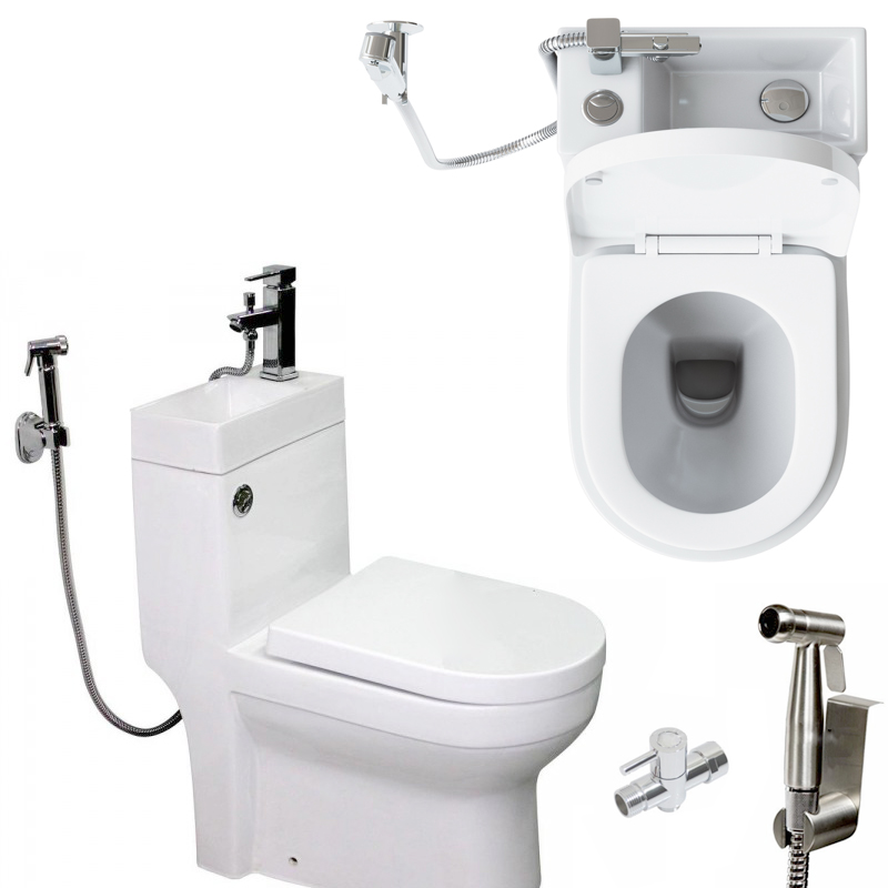 uk toilet sink combo modern p trap wc bidet function private shower sanitary closet sink shower in one wc positive funitures buy uk toilet sink