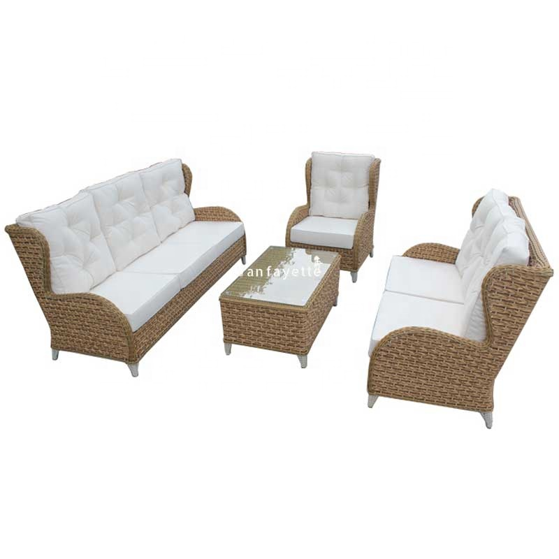 patio furniture wicker mobilier de plage professionnel outdoor furniture foshan 4pcs rattan sofa cafe garden furniture buy cafe garden