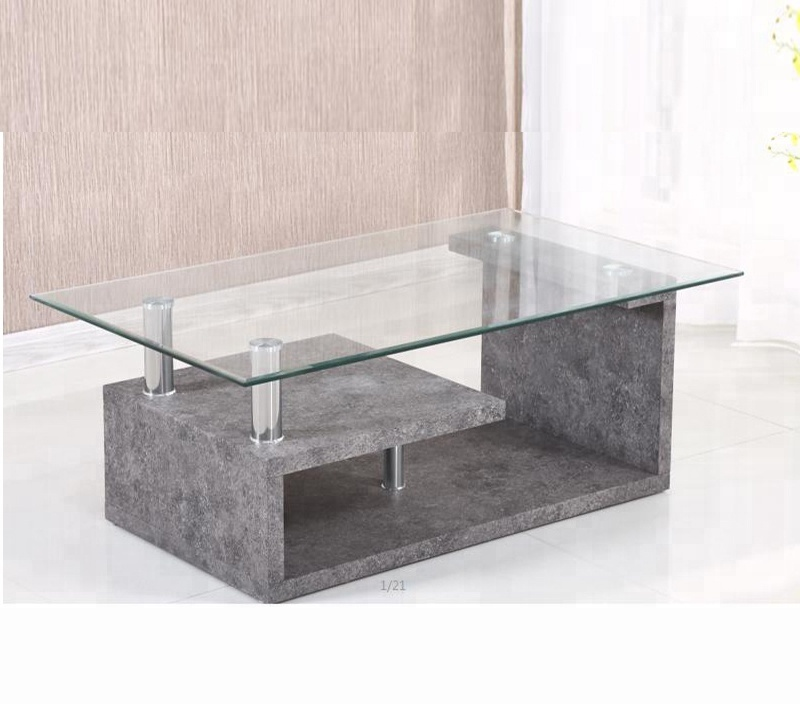 hot sale elegant and shining outlook clear tempered glass coffee table for living room buy specification african coffee table on sale high quality