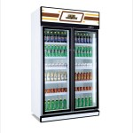 Large Capacity 2 Doors Daily Use Vertical Display Refrigerator Commercial Beverage Refrigerator And Cooler Buy Beverage Freezer Cooler Beverage Refrigerator Showcase Beverage Supermarket Refrigerator Product On Alibaba Com