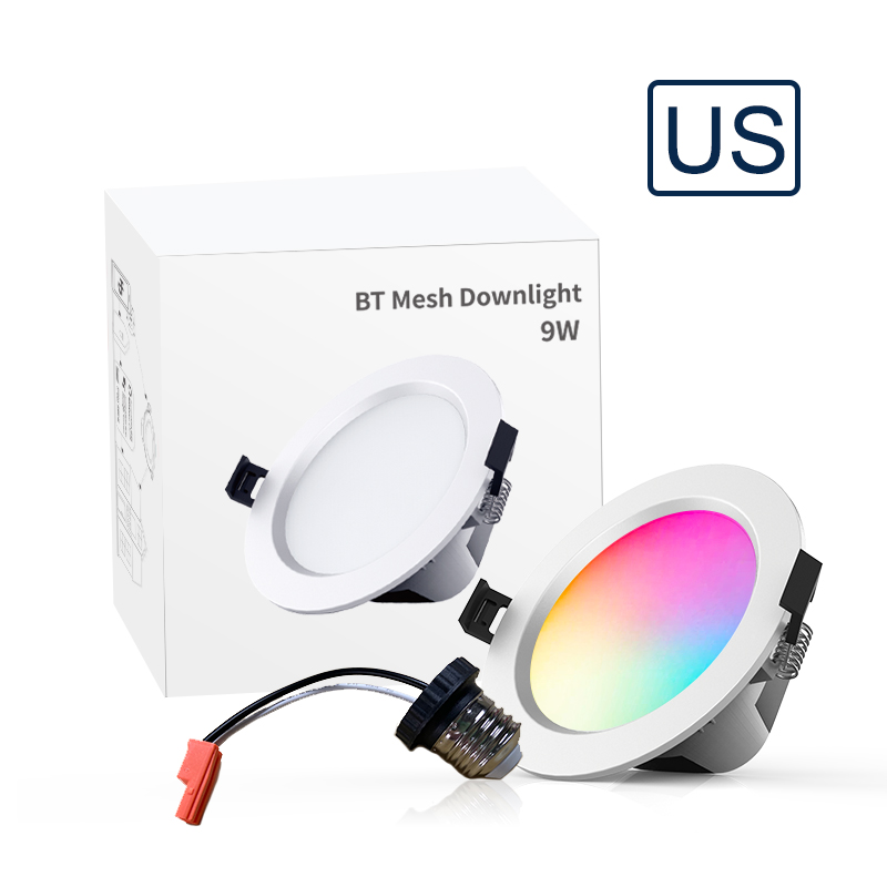 led recessed lighting 4 inch 9w rgb recessed light color changing remote control led downlight buy led downlight led smart downlight smart