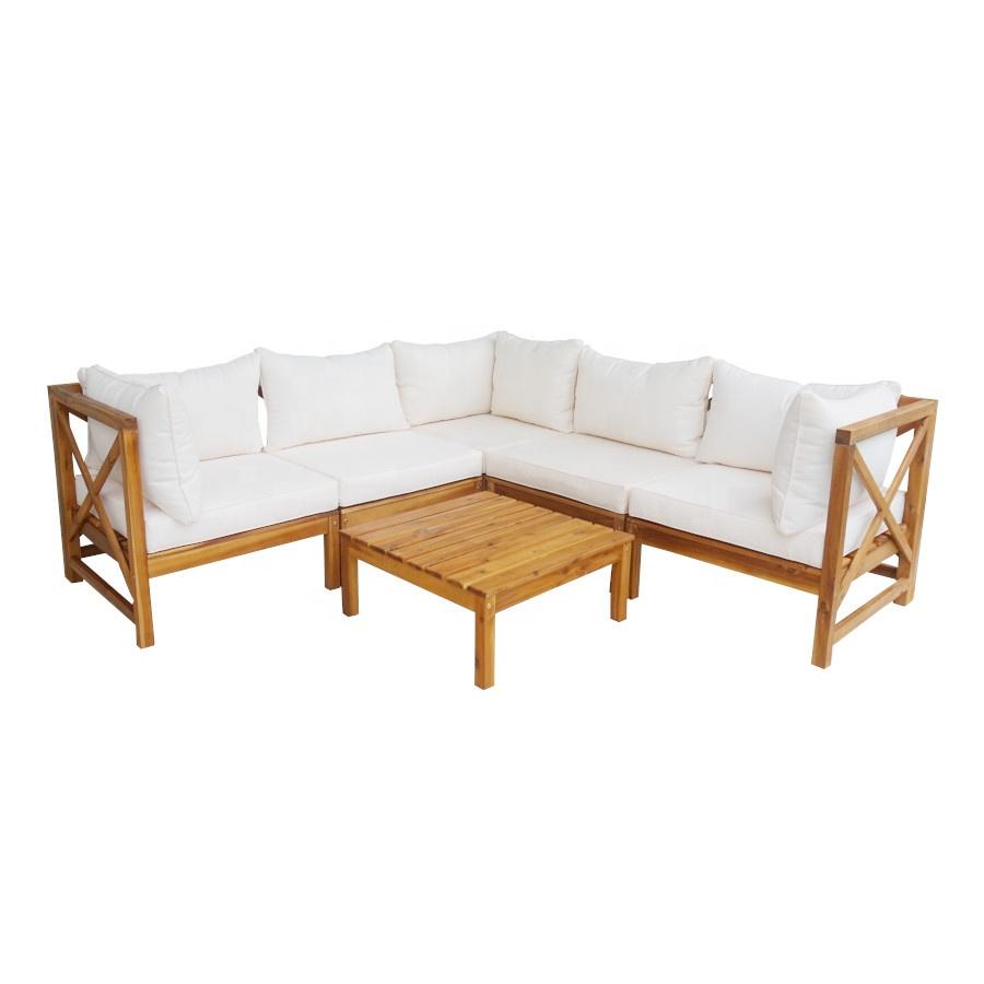 rachel corner sofa set acacia wood outdoor furniture buy sofa set vietnam furniture garden furniture vietnam export products garden sets patio