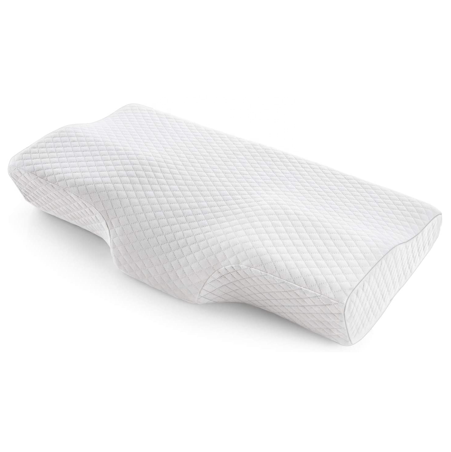 memory foam pillows cervical pillow for orthopedic sleeping neck pain ideal for side sleepers best pillows for sleeping buy posture
