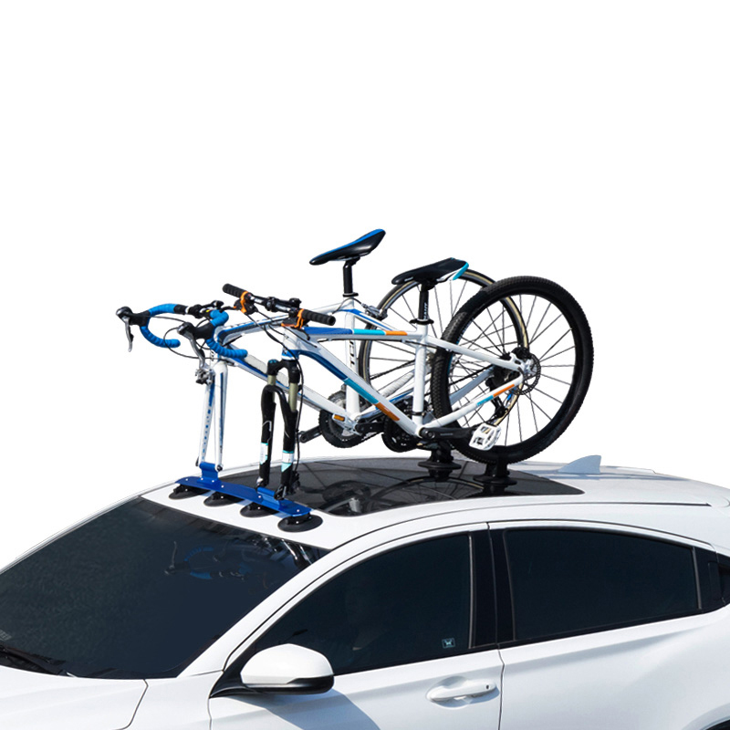 hot sale suction cup roof top rear bike rack car bicycle rack buy car bicycle rack aluminum 3 bike carrier car roof bicycle suction cup rack car