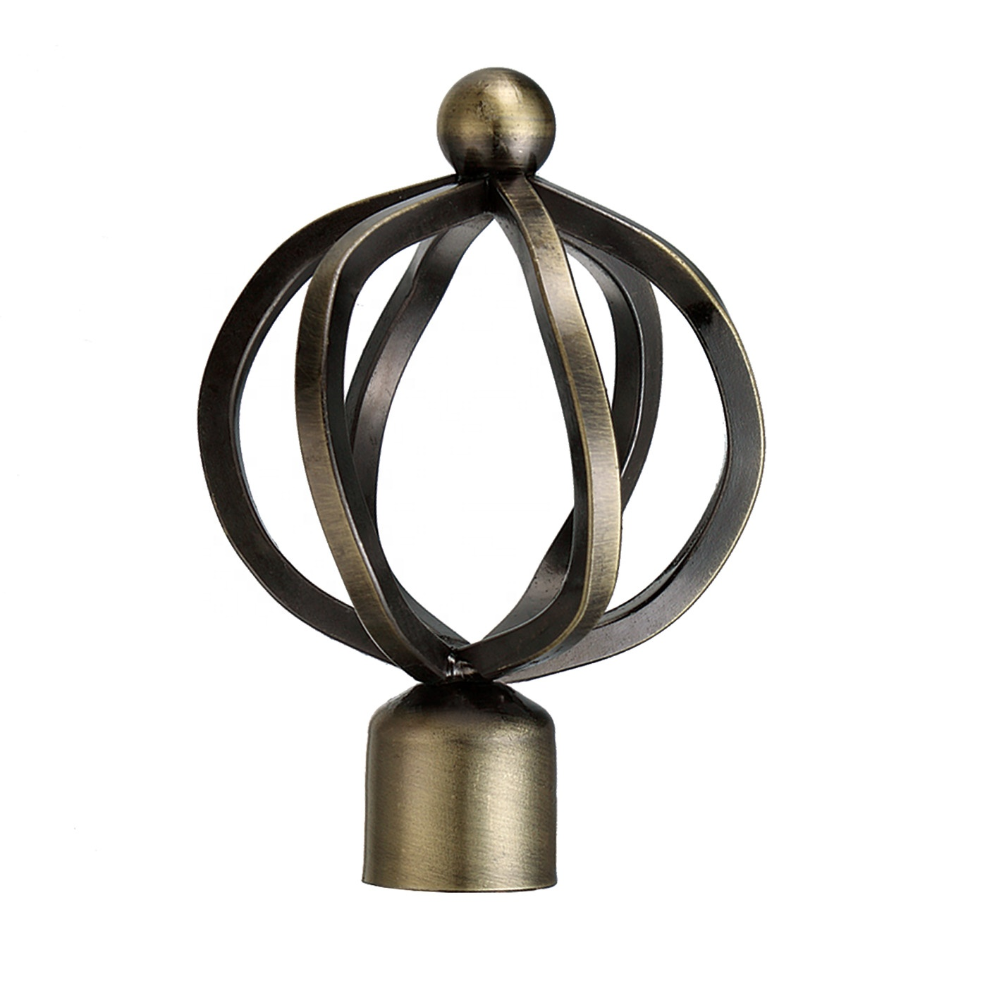 16 years factory directly sale wholesale window finials decorative curtain rod caps curtain rod accessories buy bronze curtain rod finials for