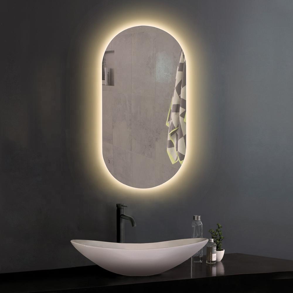 Rechercher Les Meilleurs Miroir Ovale Lumineux Salle De Bain Fabricants Et Miroir Ovale Lumineux Salle De Bain For French Les Marches Interactifs Sur Alibaba Com