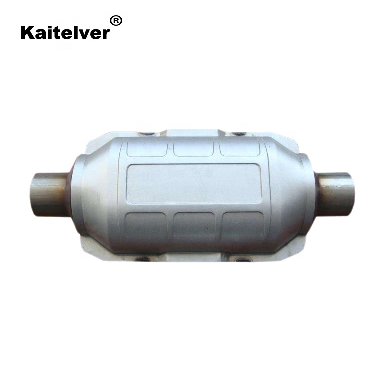 universal catalytic converter exhaust system euro 4 5 for gasoline and diesel vehicle buy car exhaust pipe exhaust end pipe muffler tail pipe