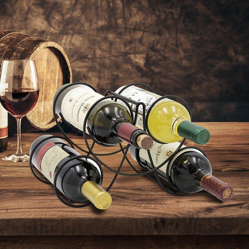 amazon hot sale table wine racks 4 bottles metal wine rack buy table wine rack wine bottle rack wine rack product on alibaba com