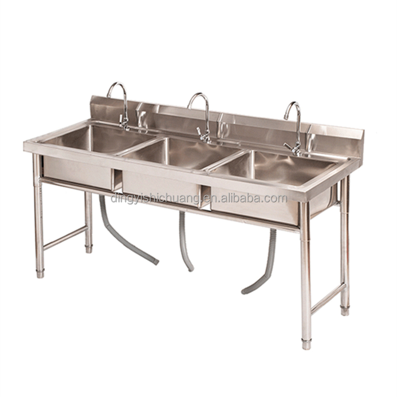 industrial commercial used stainless steel kitchen sinks triple double single bowl sink buy commercial restaurant sink stainless steel kitchen