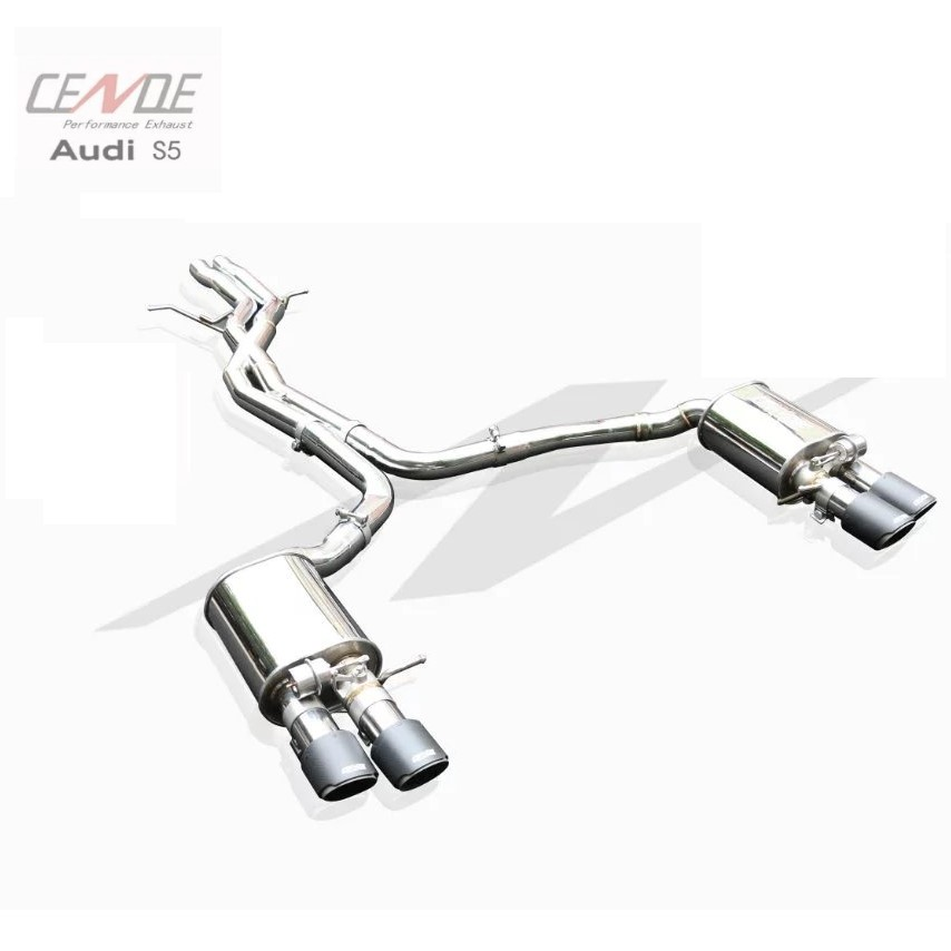 active sound exhaust pipe system for audi s5 b8 b9 3 0t buy for audi s3 s5 exhaust pipe exhaust exhaust sound system product on alibaba com
