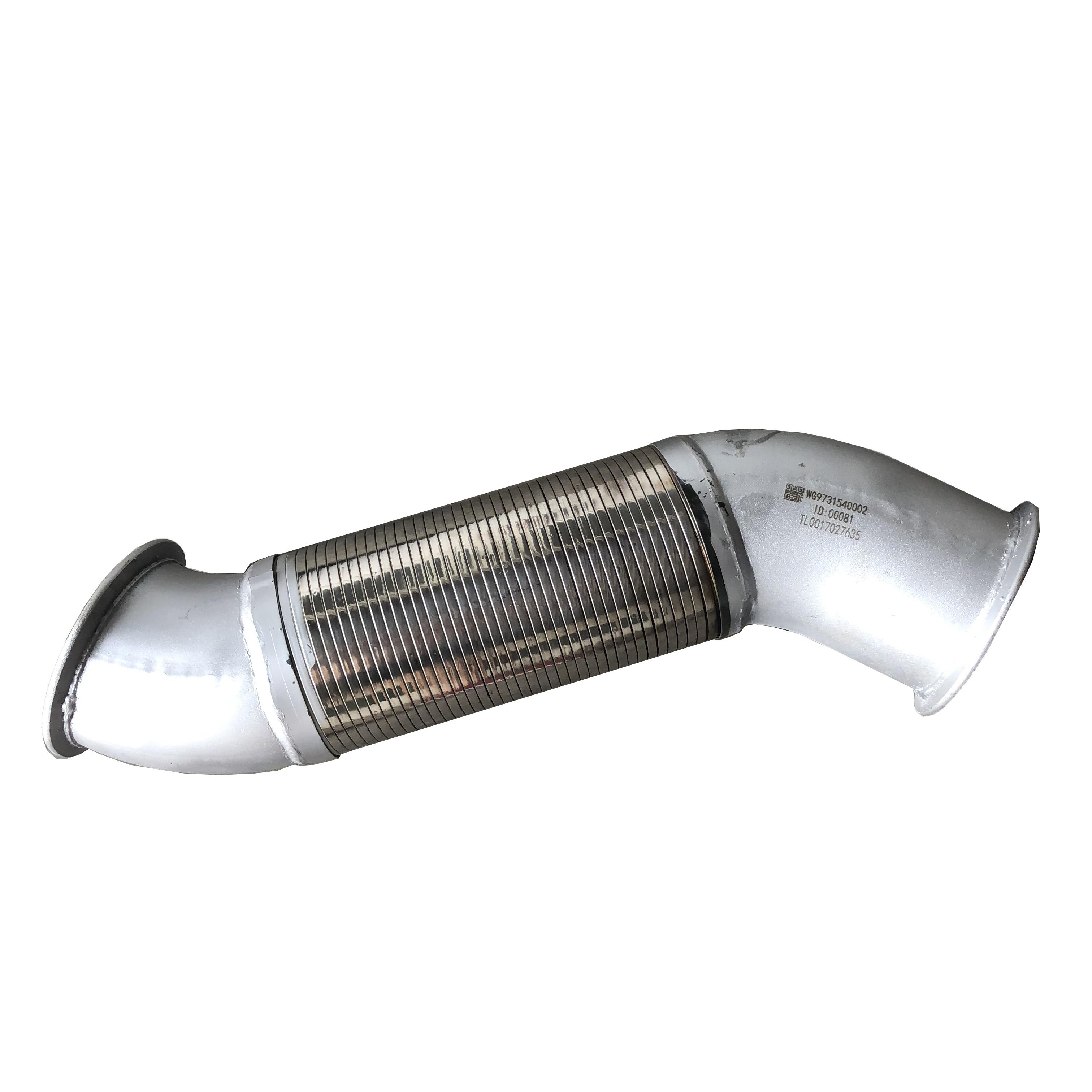 sinotruk howo truck exhaust flexible pipe repair kits wg9731540002 buy exhaust flexible pipe repair kits wg9731540002 exhaust flexible pipe product