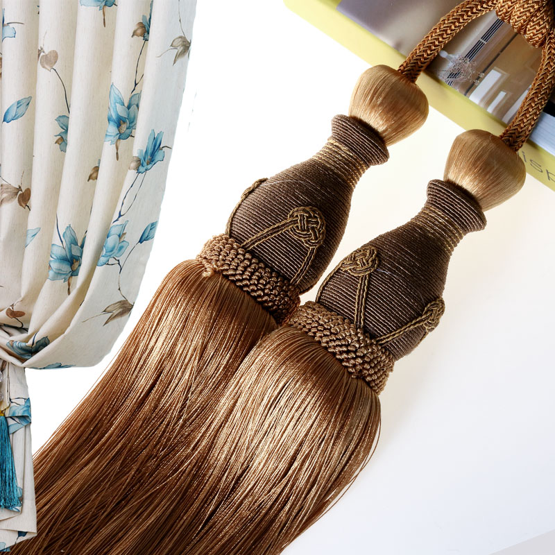 high quality gold cream rope tassel curtain tie backs buy tassel tie back curtain tassel tie back product on alibaba com